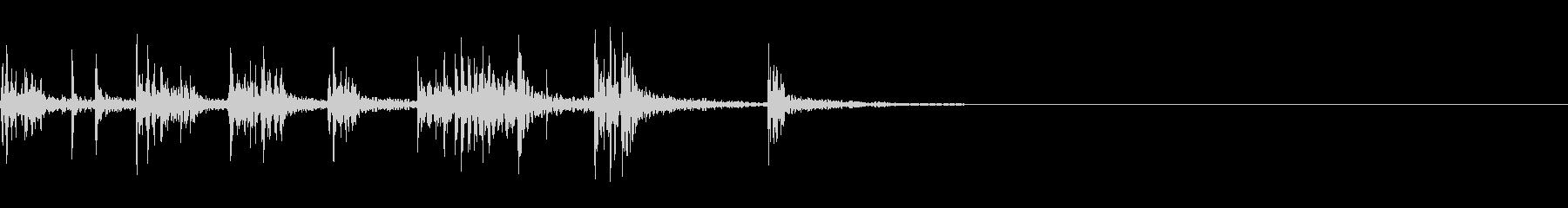 スパーク音-43の未再生の波形