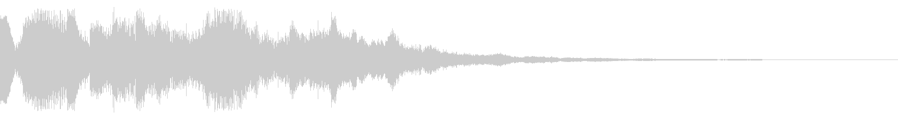 システム系起動音の未再生の波形