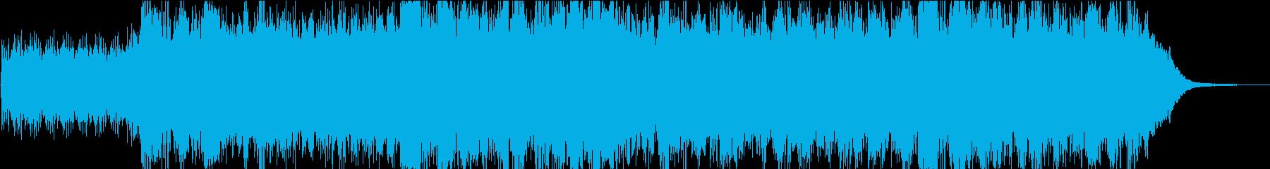 追跡シーン全般またはあらゆる種類の...の再生済みの波形
