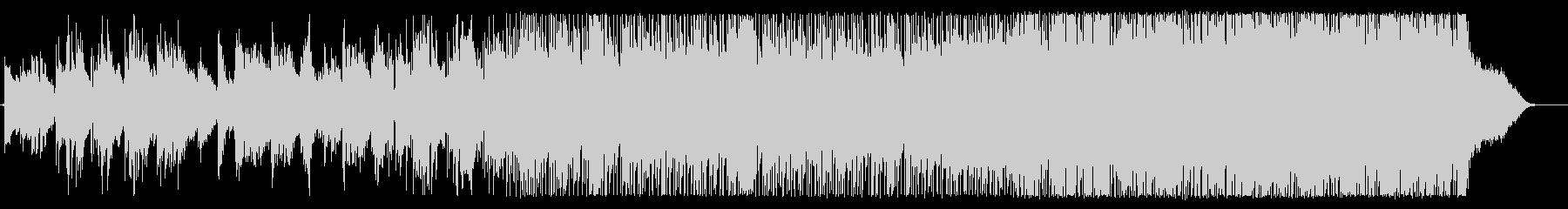 電子的要素とライブドラムを備えたナ...の未再生の波形