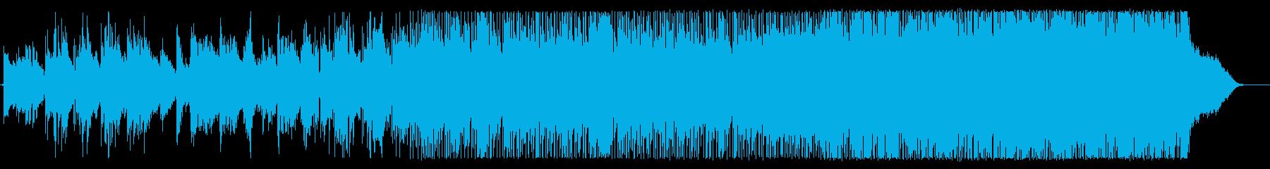 電子的要素とライブドラムを備えたナ...の再生済みの波形