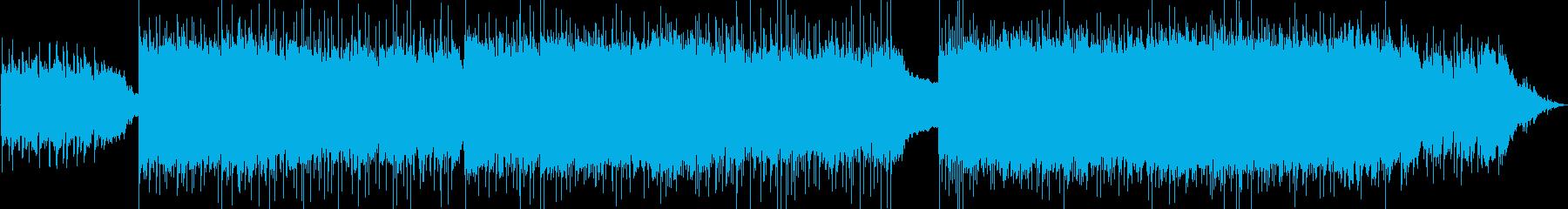 スローテンポで重いギターサウンドの再生済みの波形