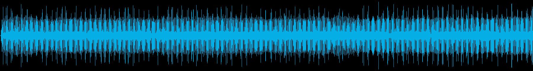 クリケット1の再生済みの波形