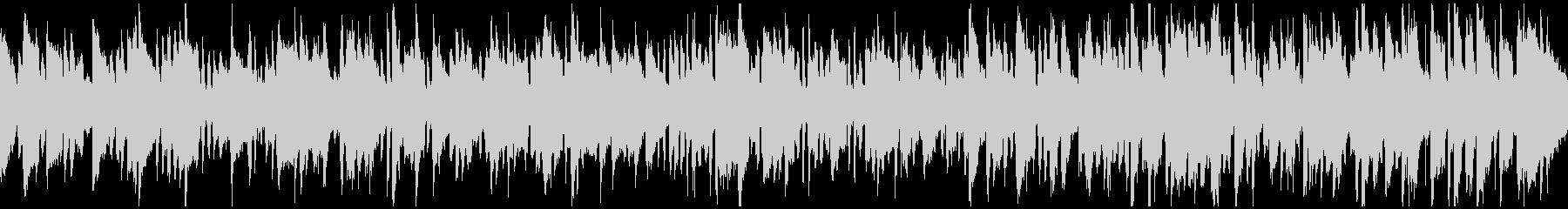 素朴なリコーダーのボサノバ ※ループ版の未再生の波形