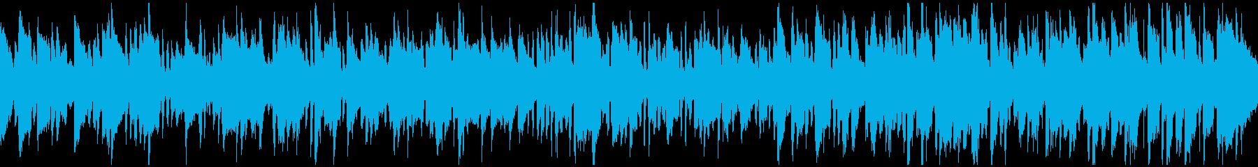 素朴なリコーダーのボサノバ ※ループ版の再生済みの波形