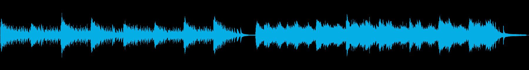 企業VP・CM用60秒の切ないピアノソロの再生済みの波形
