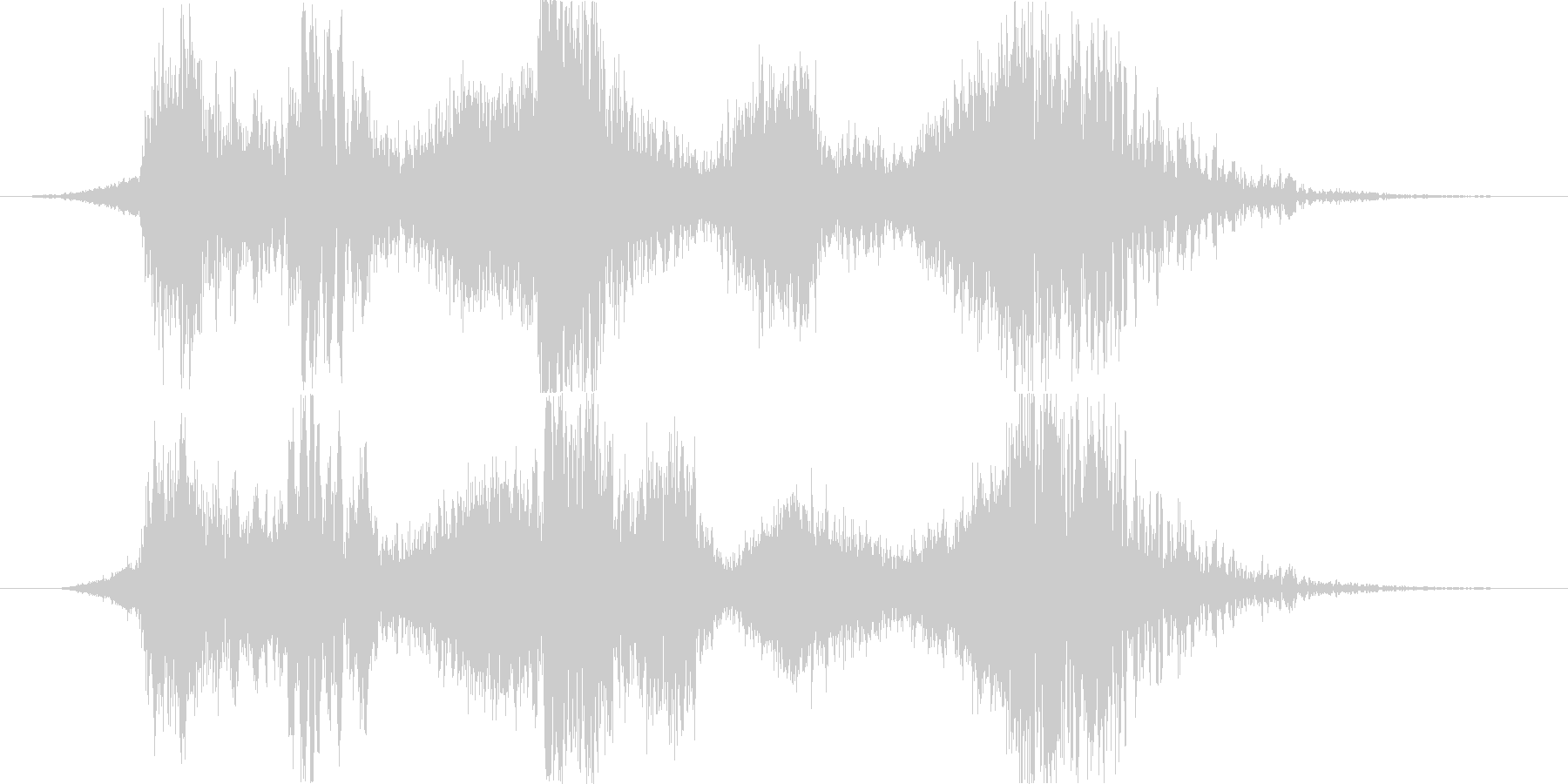 スペル 邪悪な闇03の未再生の波形