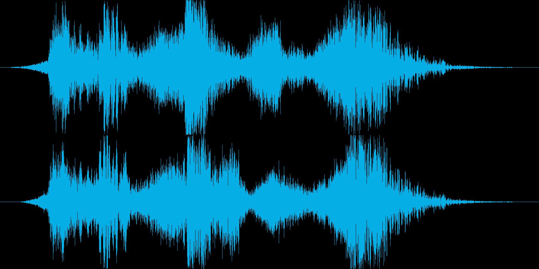 スペル 邪悪な闇03の再生済みの波形