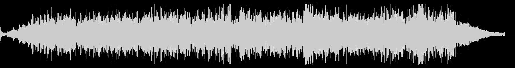 アトモスフィリックでエスニックなBGMの未再生の波形