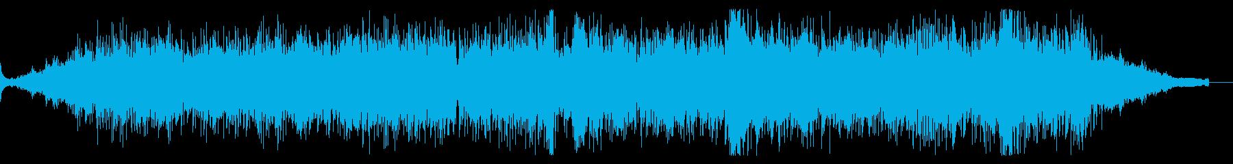 アトモスフィリックでエスニックなBGMの再生済みの波形