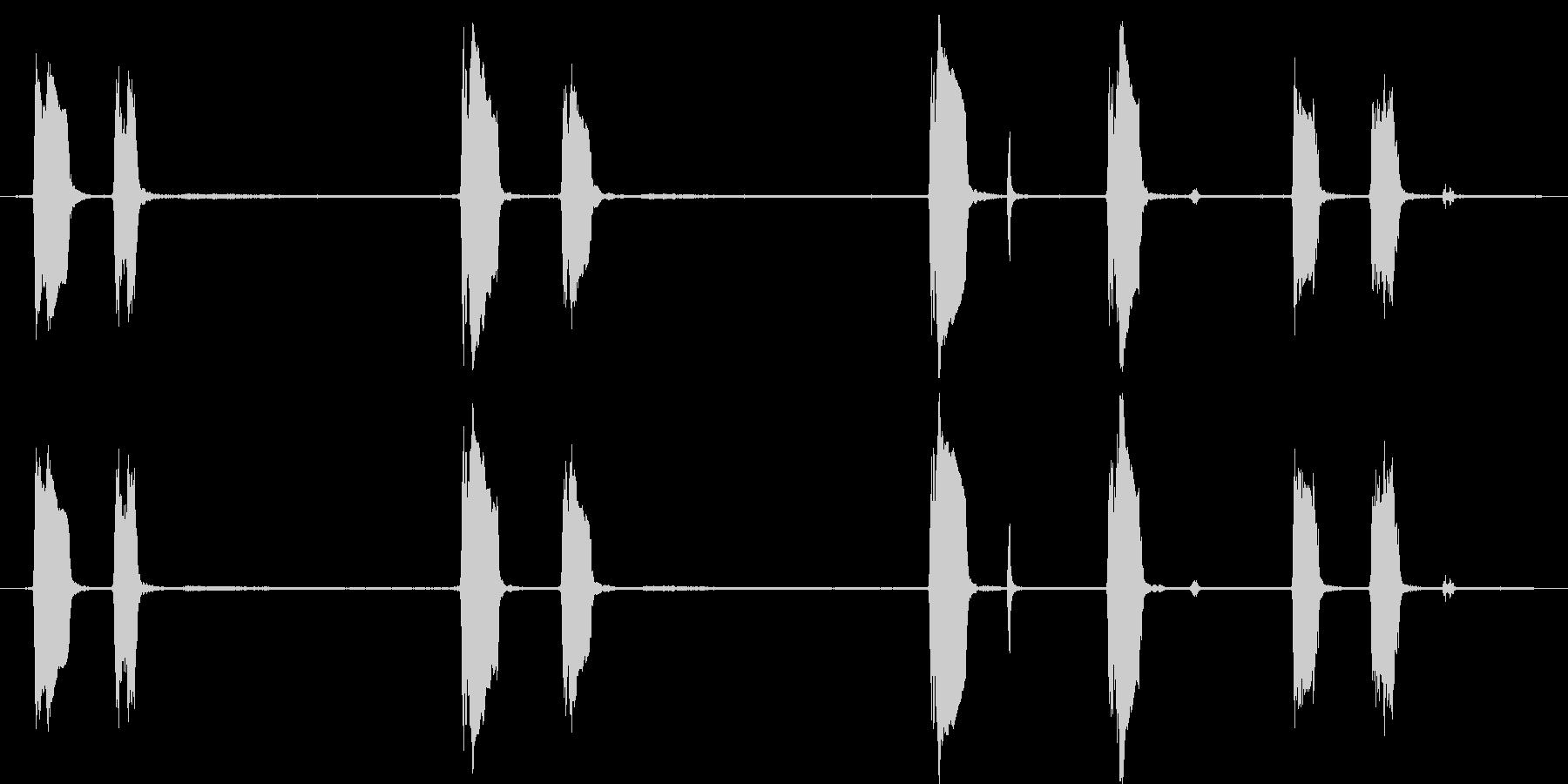ハウンドドッグ:Barえるとハウリ...の未再生の波形