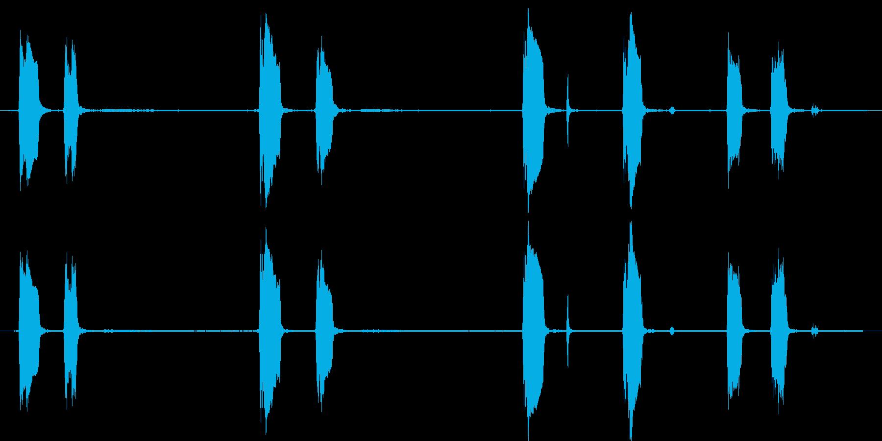 ハウンドドッグ:Barえるとハウリ...の再生済みの波形