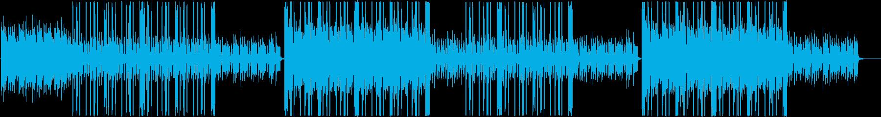 ローファイ、チルアウト、ポップトラップ♪の再生済みの波形