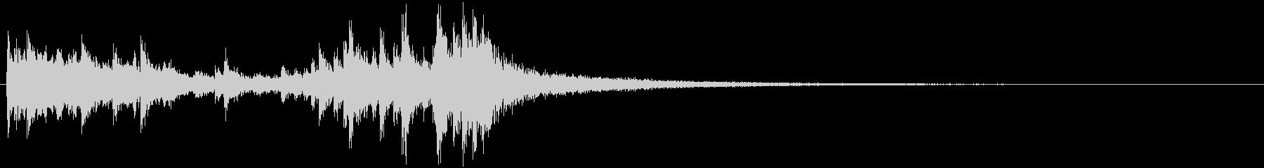 ドラムロール 約2秒でシンバルがなるの未再生の波形