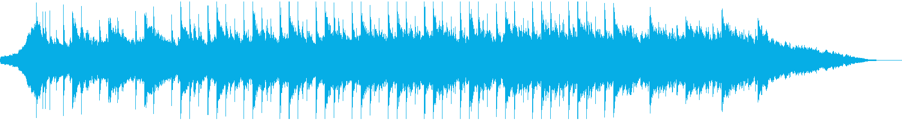 60秒企業VP10コーポレート,ゆったりの再生済みの波形