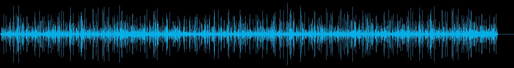 近くの非常に小さなストリームの再生済みの波形
