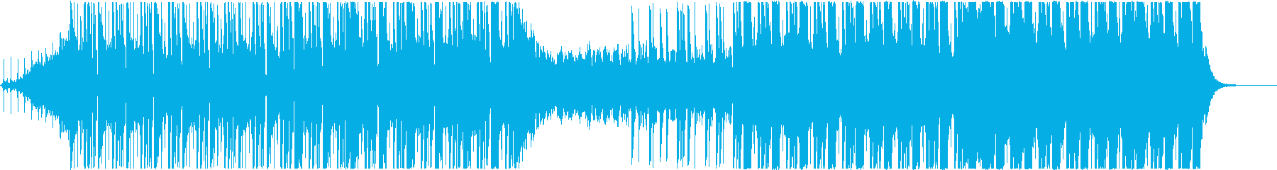 クールでかっこいいEDM風の曲、CM等にの再生済みの波形