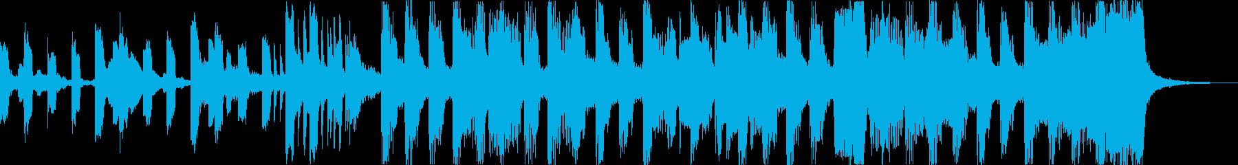 おしゃれチルヒップホップR&Bハウスcの再生済みの波形