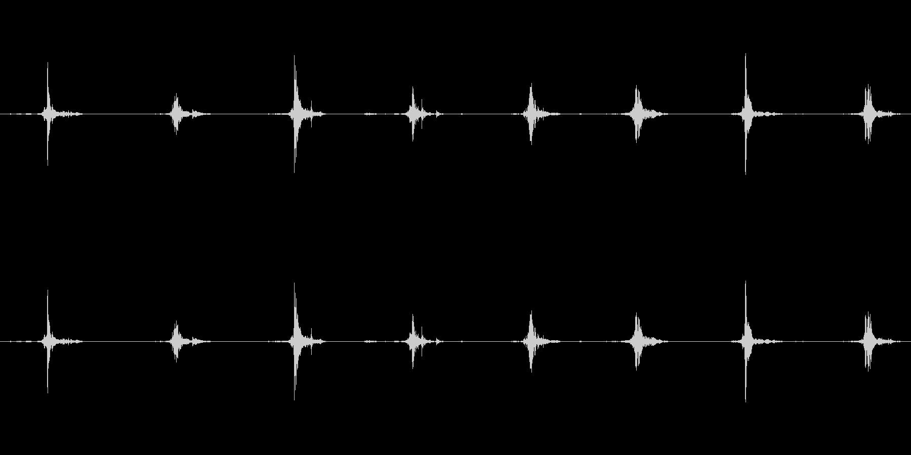 鳥 翼フラップ04の未再生の波形