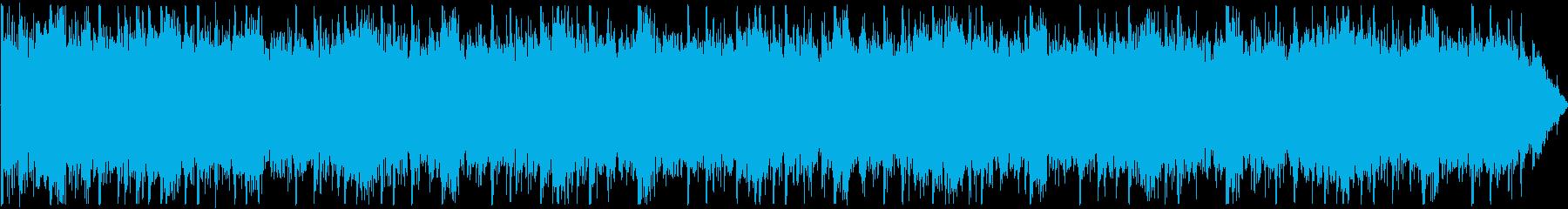 洞窟をイメージしたアンビエンスの再生済みの波形