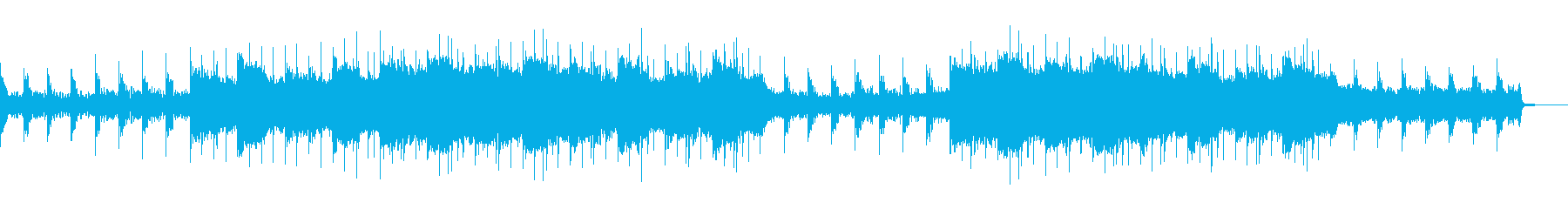 ほのぼの、かわいい、おやすみエレクトロの再生済みの波形