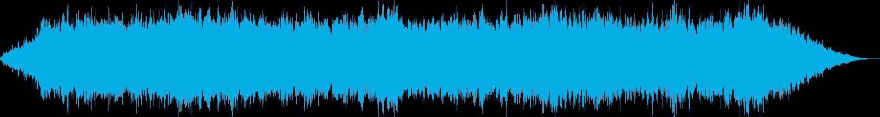 キラキラした癒されるBGMの再生済みの波形