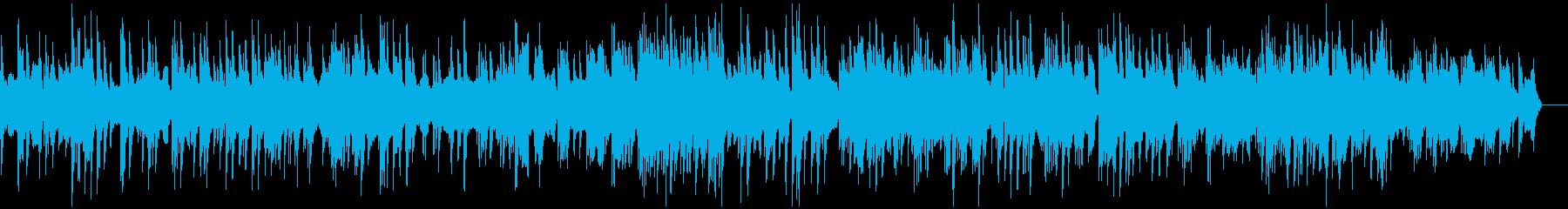 ★ピアノとチェロのしっとりバラードBGMの再生済みの波形