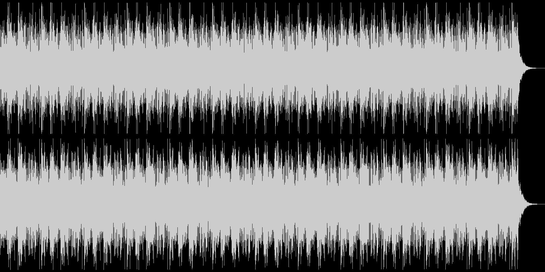[ニュース報道]無機質:フラット:13の未再生の波形