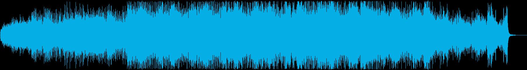 動画 サスペンス 技術的な 楽しげ...の再生済みの波形