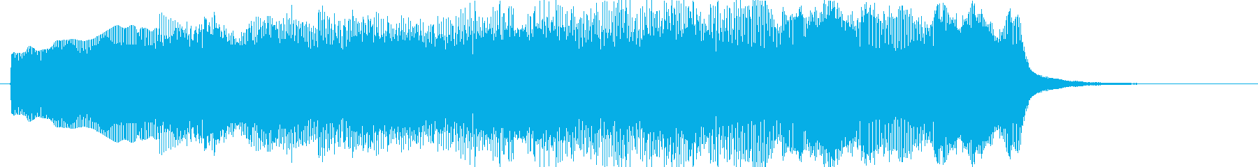 タイトルで流れているイメージです。の再生済みの波形