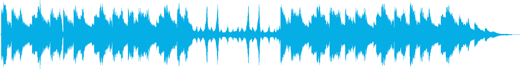 静かなlofi/chill hopの再生済みの波形