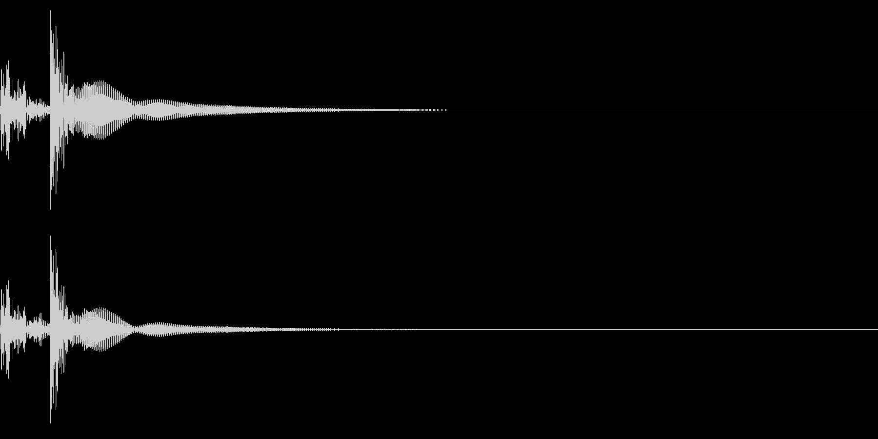 コンガ ボンゴ リフ3 キューバ ボタンの未再生の波形
