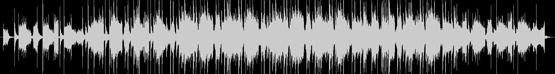 切ないピアノのカットアップの未再生の波形