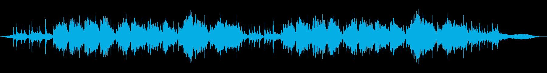 和風でアジアンな篠笛とダルシマーのワルツの再生済みの波形
