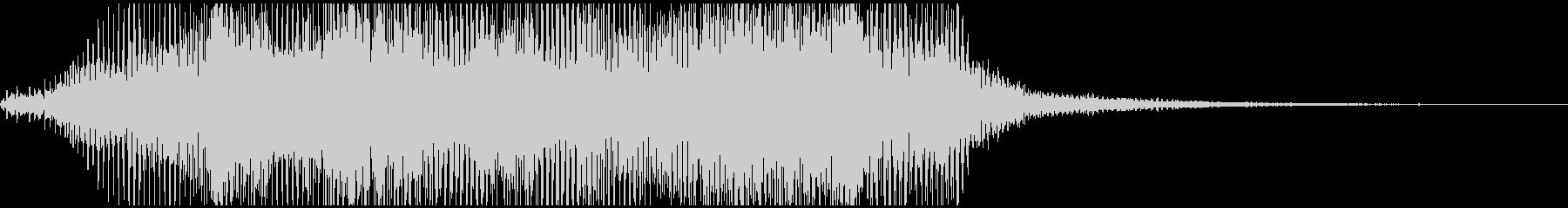 サウンドロゴ/トランスフォーマー調効果音の未再生の波形