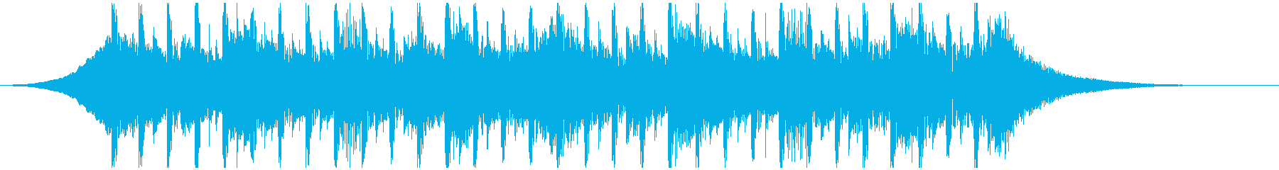 アーキテクチャ(23秒)の再生済みの波形