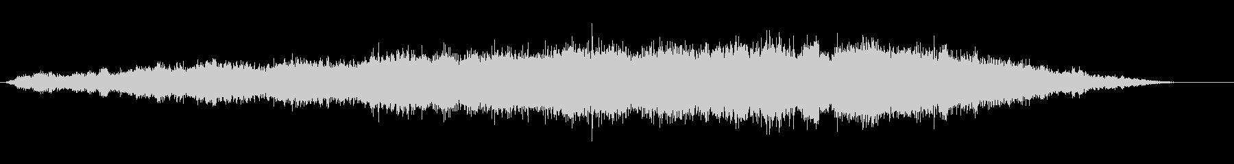 エスニック風な呪文の言葉の神秘的な音風景の未再生の波形