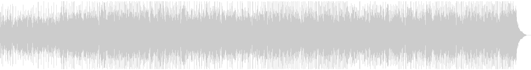 ほのぼのとしたマンドリンカントリーBGMの未再生の波形