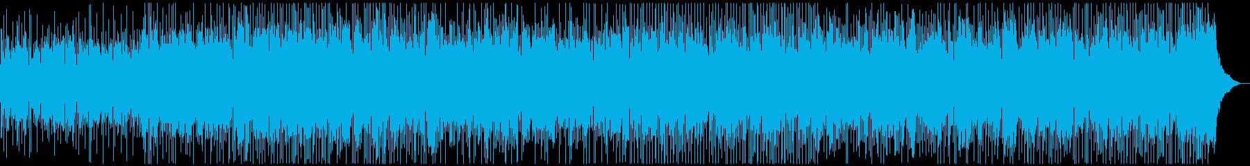 ほのぼのとしたマンドリンカントリーBGMの再生済みの波形