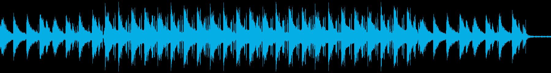 ローファイヒップホップ カフェの再生済みの波形