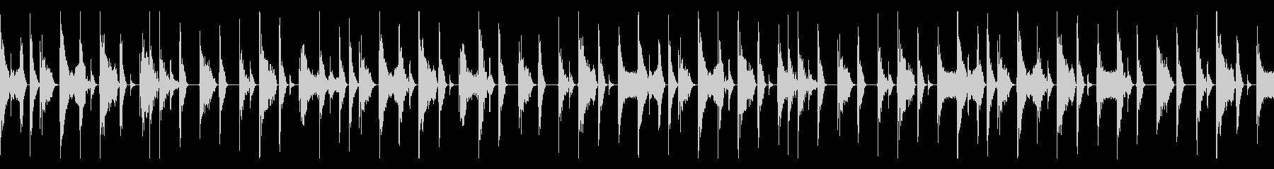 ボイスパーカッション ループBPM156の未再生の波形