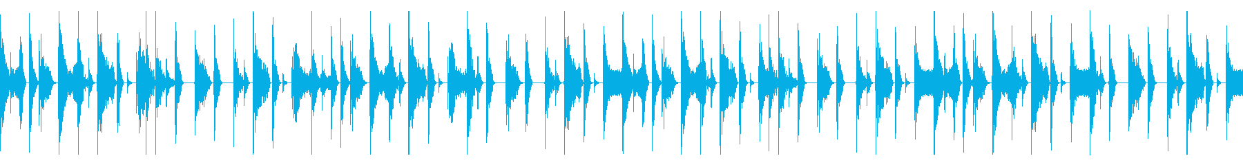ボイスパーカッション ループBPM156の再生済みの波形