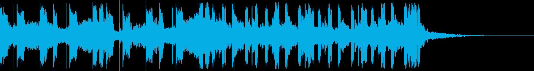 【洋楽・ヒップホップ風】切なく、美しいの再生済みの波形