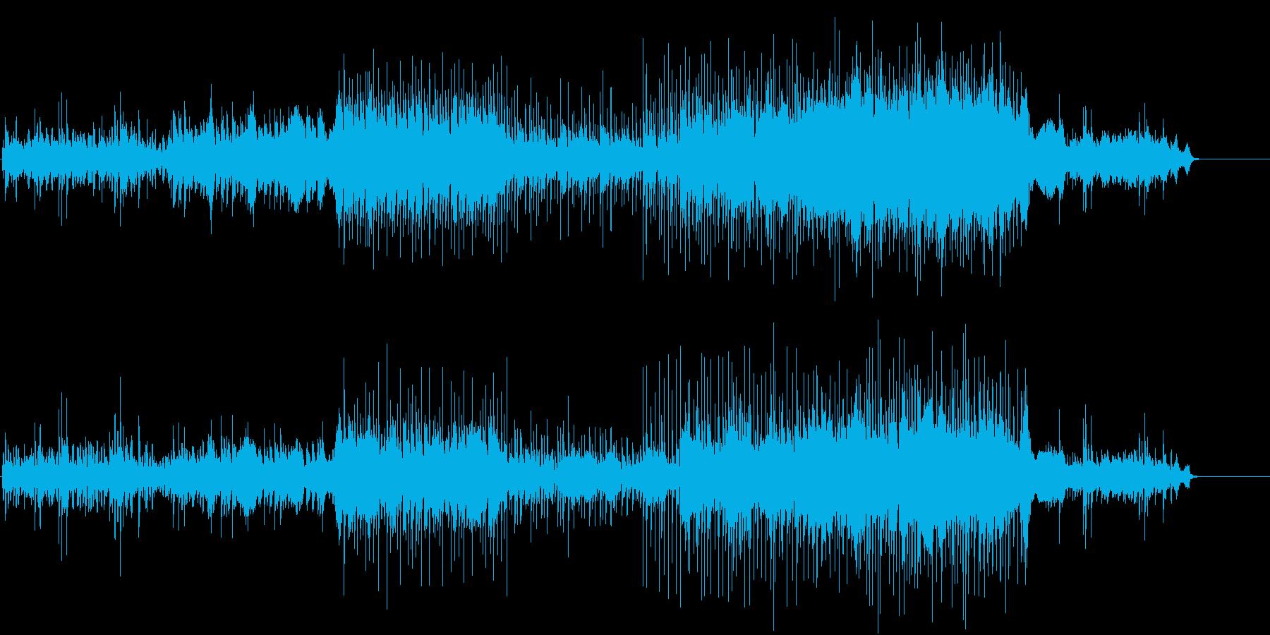 Asian Blueの再生済みの波形