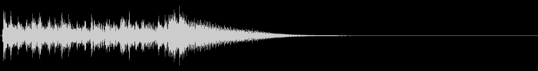 ファンタジックなアイキャッチの未再生の波形