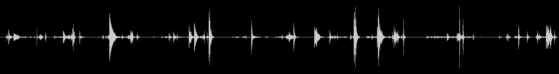 メタル ピースシーケンス06の処理の未再生の波形