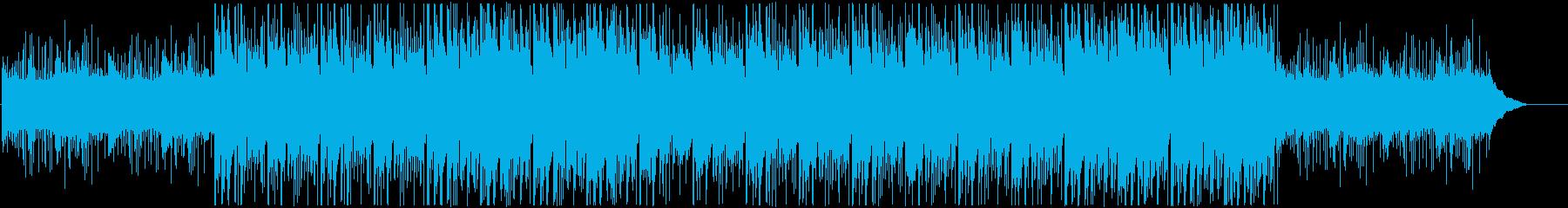 ダークな感じの太鼓メインのインストです。の再生済みの波形