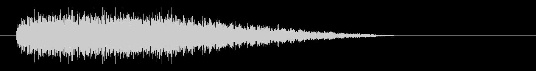 レーザー音-77-3の未再生の波形