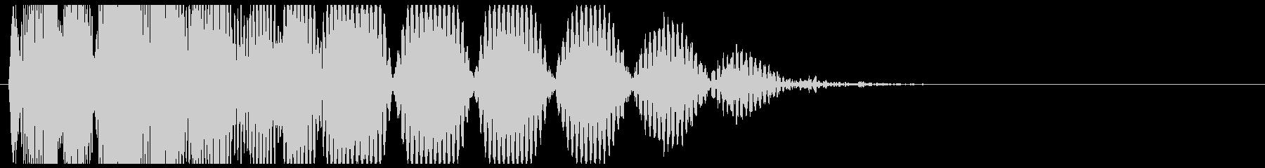 爆発・衝撃波・ソニックブーム12の未再生の波形
