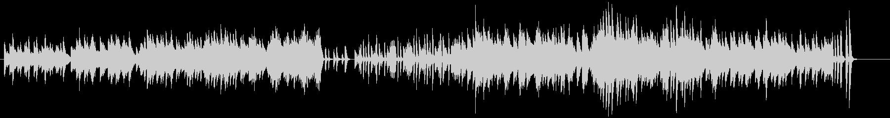 「スターワルツ」 かわいいピアノワルツの未再生の波形
